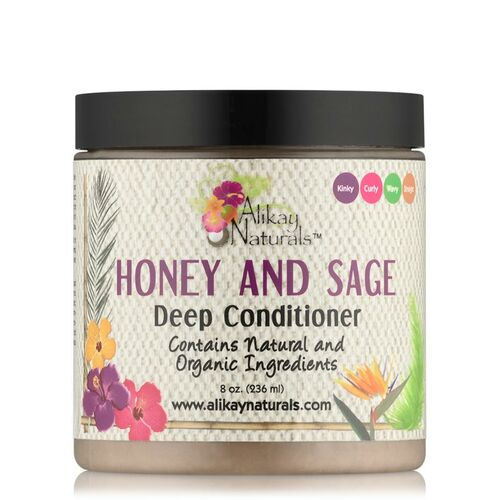 Alikay Naturals Honey and Sage Deep Conditioner (8 oz.)