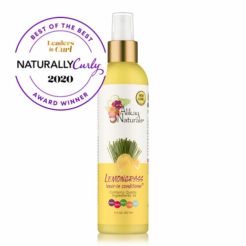 Alikay Naturals Lemongrass Leave In Conditioner ( 8 oz.)