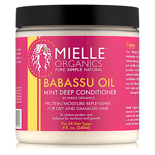 Mielle Organics Babassu Oil & Mint Deep Conditioner (8 oz.)