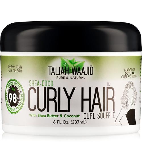 Taliah Waajid Pure & Natural Shea Coco Curly Hair Souffle (8 oz.)