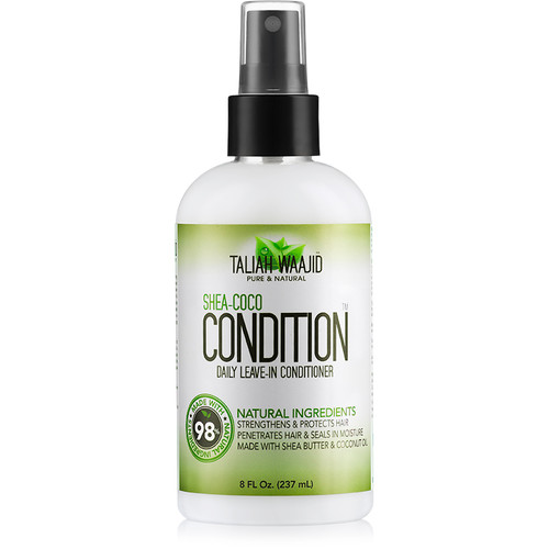 Taliah Waajid Pure & Natural Shea-Coco Condition Daily Leave-in Conditioner Spray (8 oz.)