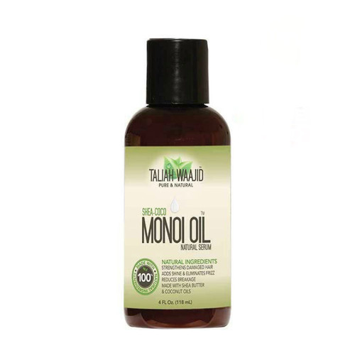 Taliah Waajid Pure & Natural Shea-Coco Monoi Oil Natural Serum (4 oz.)