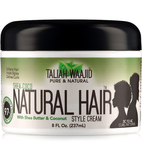 Taliah Waajid Pure & Natural Shea-Coco Natural Hair Style Cream (8 oz.)