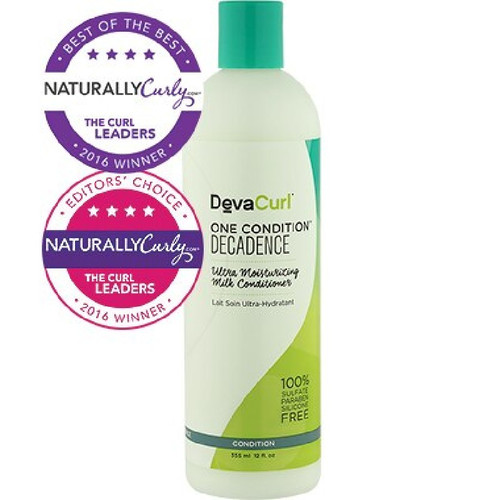DevaCurl One Condition Decadence Ultra Moisturizing Milk Conditioner (12 oz.)