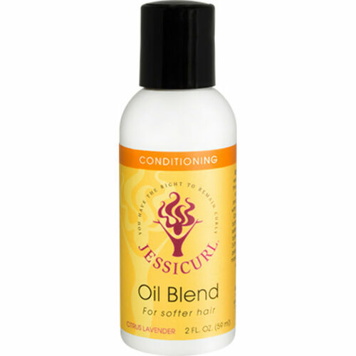 Jessicurl Oil Blend for Softer Hair - Citrus Lavender (2 oz.)