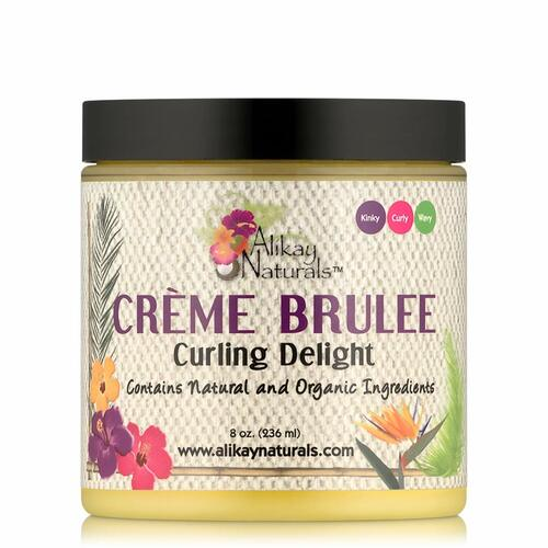 Alikay Naturals Creme Brulee Curling Delight (8 oz.)