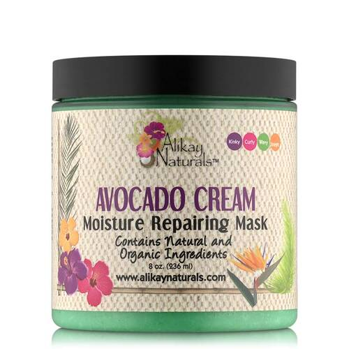 Alikay Naturals Avocado Cream Moisture Repairing Mask (8 oz.)