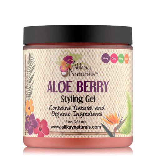 Alikay Naturals Aloe Berry Styling Gel (8 oz.)