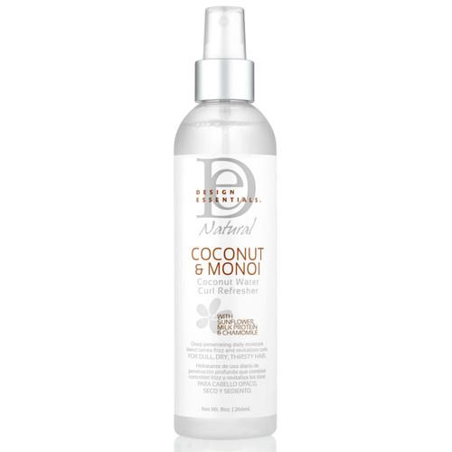 Design Essentials Coconut & Monoi Coconut Water Curl Refresher (8 oz.)
