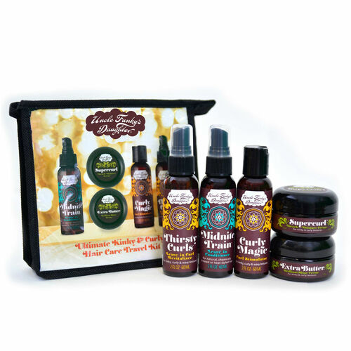 Uncle Funky's Daughter Ultimate Kinky & Curly Hair Care Travel Kit (5 pc.)