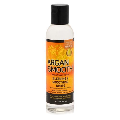 argan oil smooth silk press