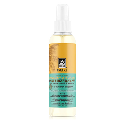 Long Aid Naturals Manuka Honey & Coconut Shine & Refresh Spray (6 oz.)
