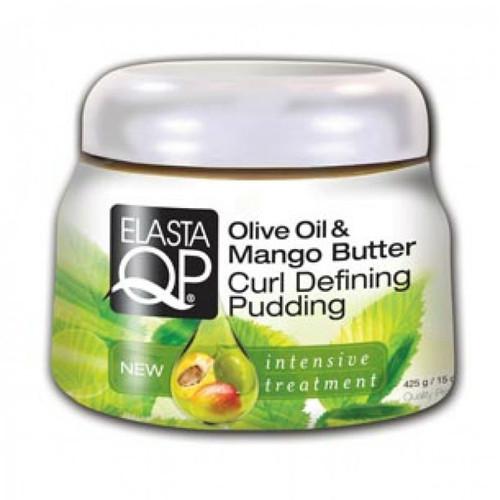 ElastaQP Olive Oil & Mango Butter Curl Defining Pudding (15 oz.)