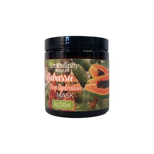 Sarandipity Naturals Babassu & Papaya Deep Hydration Mask (8 oz.)