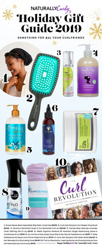 Give the Gift of Good Hair with these Curly Girl Holiday Essentials