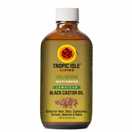 Tropic Isle Living Jamaican Black Castor Oil (8 oz.)