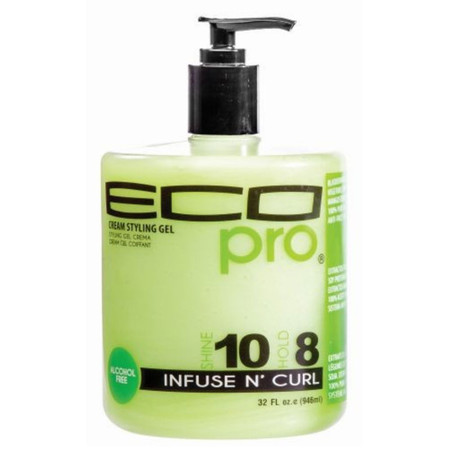 Ecoco Eco Pro Cream Styling Gel Infuse N' Curl (32 oz.)