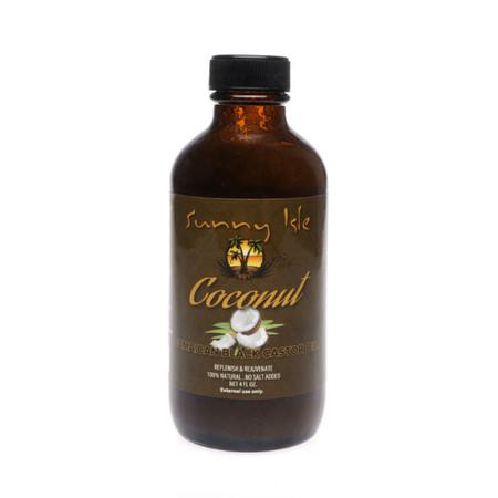 Sunny Isle Coconut Jamaican Black Castor Oil (4 oz.)