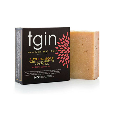 tgin Olive Oil Soap - Cherry Blossom (4 oz  Bar)