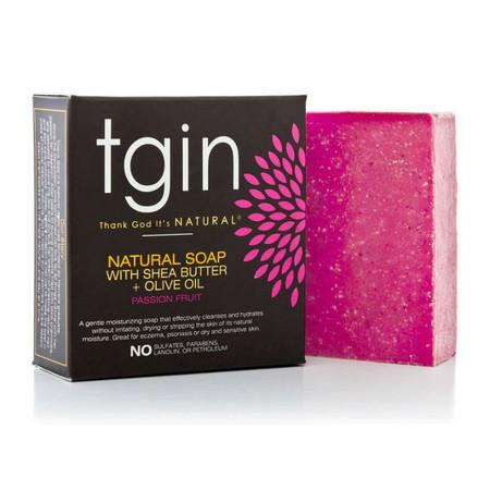 tgin Olive Oil Soap - Passion Fruit (4 oz. Bar)