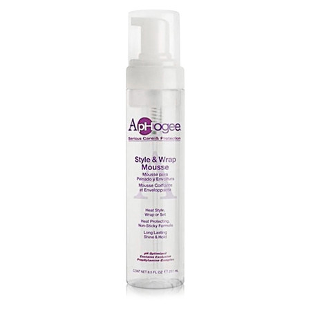 ApHogee Style and Wrap Mousse (8.5 oz.)