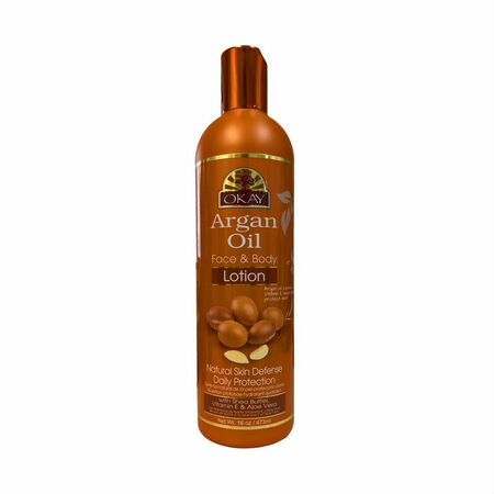 OKAY Pure Naturals Argan Oil Face and Body Lotion (16 oz.)
