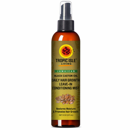 Tropic Isle Living Jamaican Black Castor Oil Daily Hair Growth Leave-In Conditioning Mist (8 oz.)