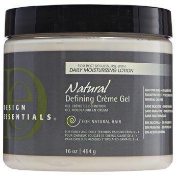 Design Essentials Natural Defining Creme Gel 16 Oz Naturallycurly