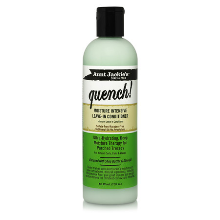Aunt Jackie's Curls & Coils Quench! Moisture Intensive Leave-In Conditioner (12 oz.)