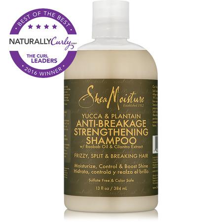 SheaMoisture Yucca & Plantain Anti-Breakage Strengthening Shampoo (13 oz.)