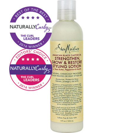 SheaMoisture Jamaican Black Castor Oil Strengthen, Grow & Restore Styling Lotion (8 oz.)