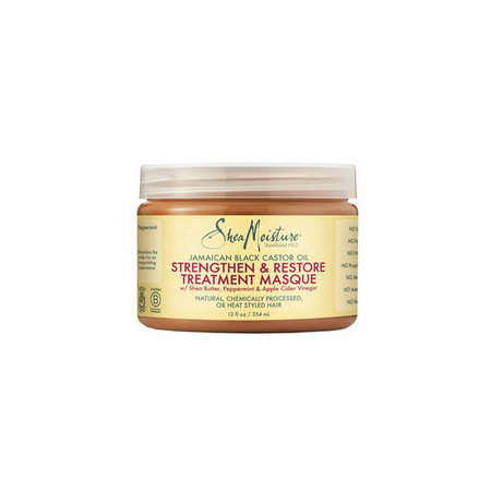 SheaMoisture Jamaican Black Castor Oil Strengthen, Grow & Restore Treatment Masque (12 oz.)
