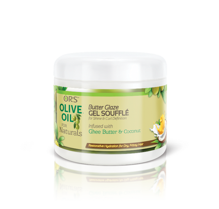 ORS Olive Oil for Naturals Butter Glaze Gel Souffle (12 oz.)