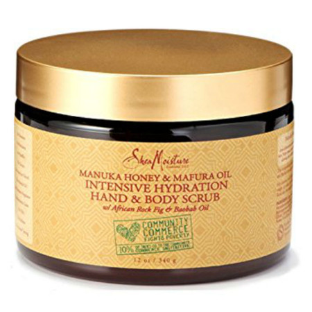 SheaMoisture Manuka Honey & Mafura Oil Intensive Hydration Hand & Body Scrub (12 oz.)