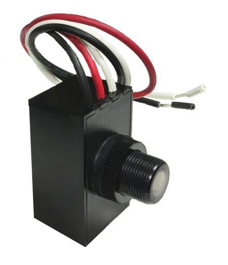 UL Listed Dusk to Dawn Light Sensor Switch for Outdoor Light 120-277V//AC 50//60Hz KOTLIN Outdoor Hard-Wired Post Eye Light Control with Photocell Light Sensor