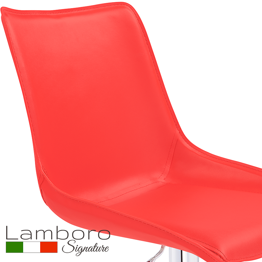 Magnifico Signature Bar Stool Red
