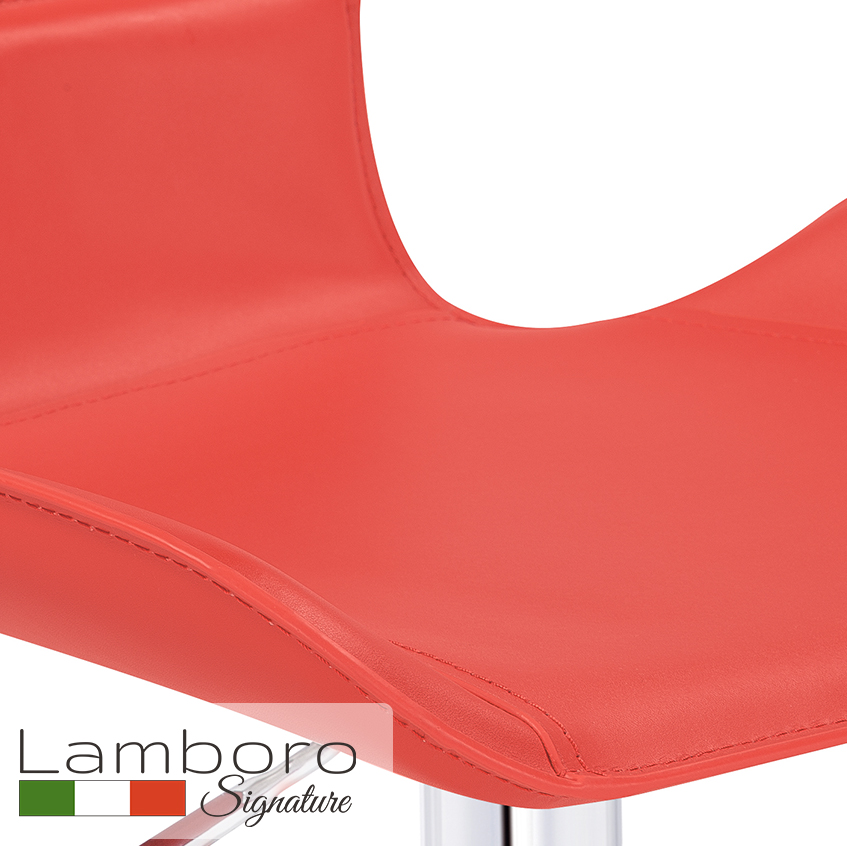Favoloso Signature Bar Stool Red