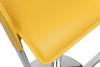 Eleganza Signature Real Leather Bar Stool Mustard