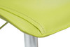 Magnifico Signature Real Leather Bar Stool Lime Green