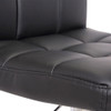 Deluxe Allegro Crescent Bar Stool Black
