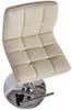 Allegro Leather Bar Stool Cream