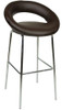 Sorrento Kitchen Fixed Height Bar Stools Brown