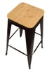 Tolix Antique Natural Bar Stool