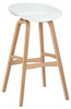 White Equator Bar Stool