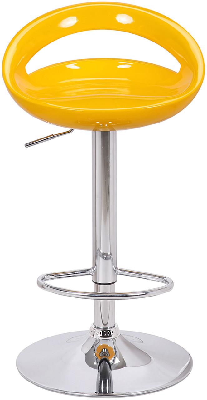 Sorrento Swivel Yellow Bar Stool Bar Stools