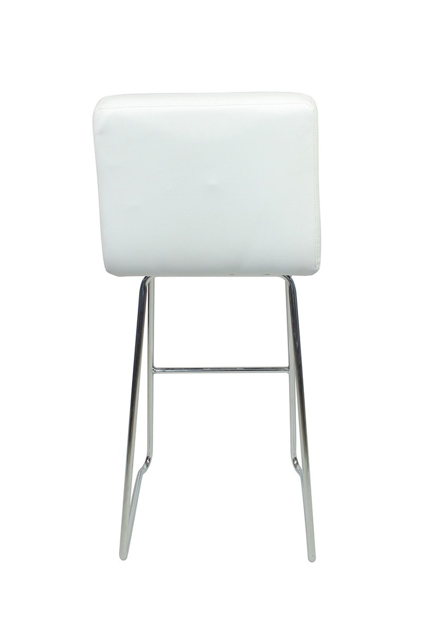Pair of Luscious Fixed Height Bar Stools Brown