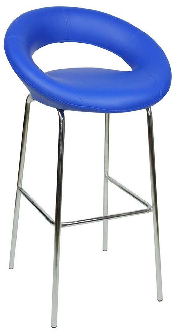 Picture of: Sorrento Kitchen Fixed Height Bar Stools Blue Simply Bar Stools