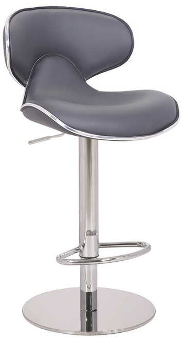 Deluxe Carcaso Bar Stool Charcoal Grey