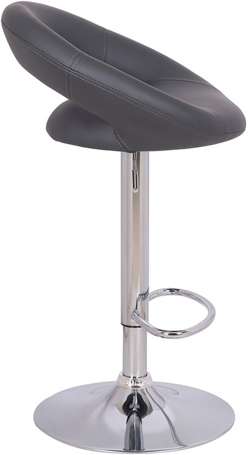Sorrento Kitchen Bar Stool Charcoal Grey