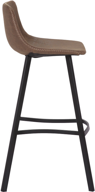 Antico Bar Stool Brown